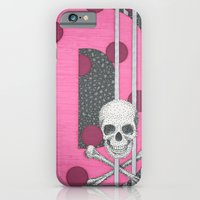 iPhone & iPod Case featuring Pink Skull D by Aimee Alexander