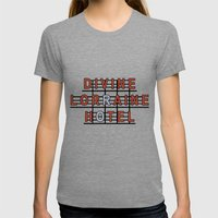 Divine Lorraine Hotel Womens Fitted Tee Tri-Grey SMALL