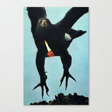 Black Eagle... (2013) Canvas Print