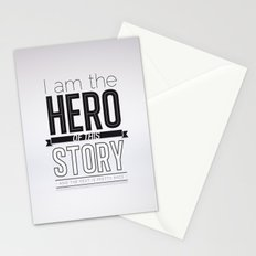 Hero of my story Stationery Cards