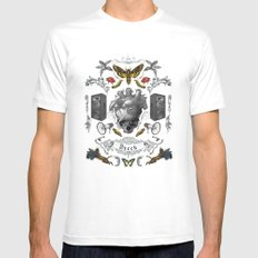 Rorschach Mens Fitted Tee SMALL White