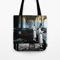 placing an objective far away from cover Tote Bag