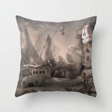 Trouble  Throw Pillow