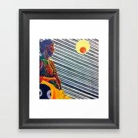 Blinds Framed Art Print