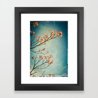 Touch the Sky Framed Art Print