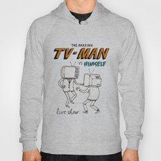 tv man vs himself Hoody