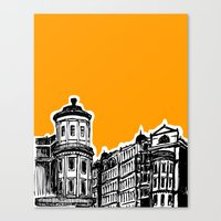 King William IV Street Canvas Print