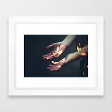 Set on Fire Framed Art Print