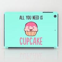 Cupcake is LIFE iPad Case