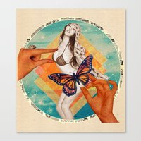 Sensasian I: Possess Canvas Print
