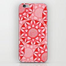 Red Mandala iPhone & iPod Skin