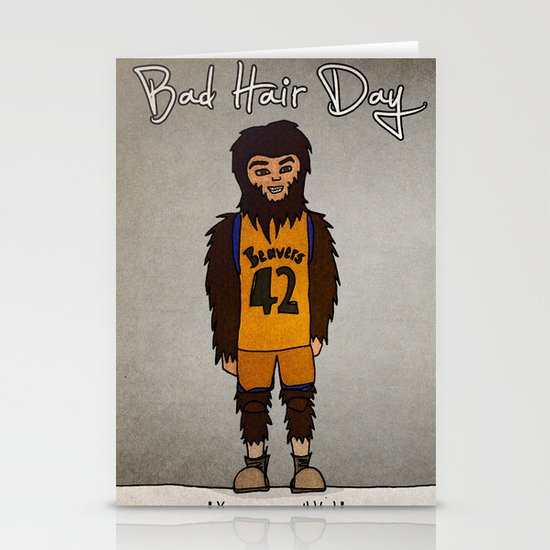 bad hair day no:2 / Teen Wolf Stationery Card