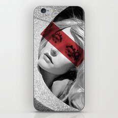 Red band iPhone & iPod Skin