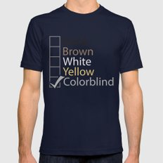 Colorblind Mens Fitted Tee Navy SMALL