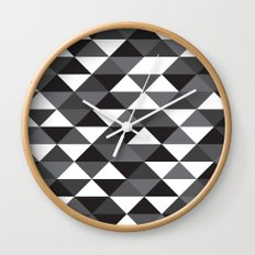 Triangle Pattern #4 Wall Clock
