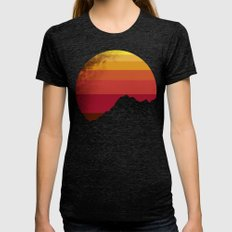 sandstorm Womens Fitted Tee Tri-Black LARGE
