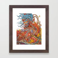 Only The Strong Framed Art Print