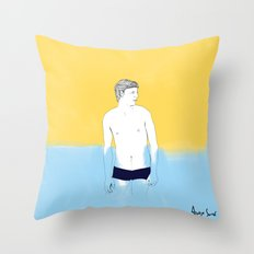 Sur la planche #01 Throw Pillow