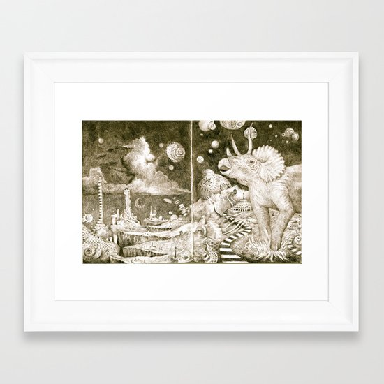 The Road to the Outer Oops Framed Art Print