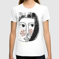 Pimply Monsters - 1 Womens Fitted Tee White SMALL