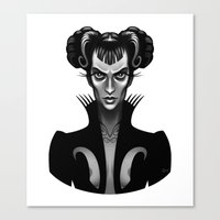 Feral Fashionista Canvas Print