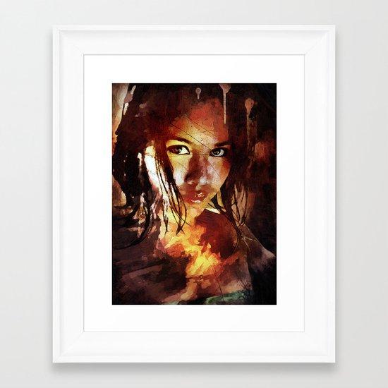 Syren Framed Art Print