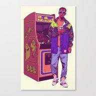 Monster Arcade Canvas Print