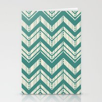 Weathered Chevron Stationery Cards