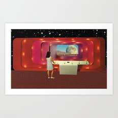 Cosmic Girl Art Print