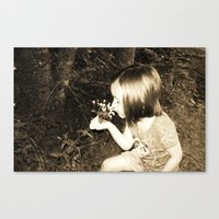 playin in summer Canvas Print