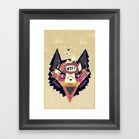 Triangle Dream Framed Art Print