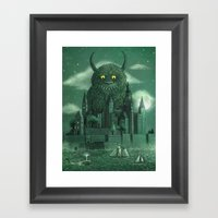Age of the Giants  Framed Art Print