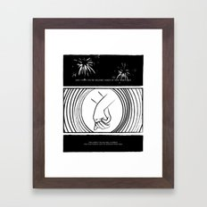 Only Ones Who Know Framed Art Print