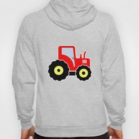 Red toy tractor Hoody