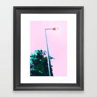 Lamppost Framed Art Print