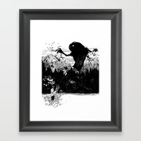 Perfect Timing Framed Art Print