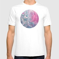 Electric Dreams Mens Fitted Tee White SMALL