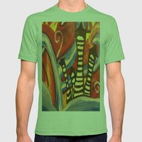 Tiny Town Mens Fitted Tee Grass SMALL