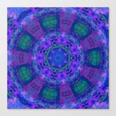 Ocean Flower Canvas Print