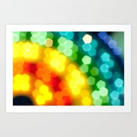 Rainbow! Art Print
