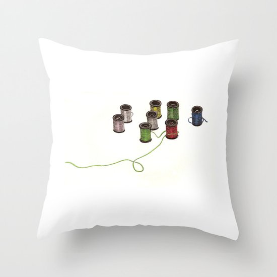 Thread Throw Pillow