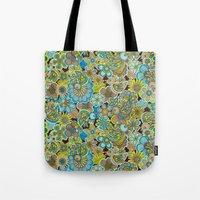welcome birds to...(brown).  Tote Bag