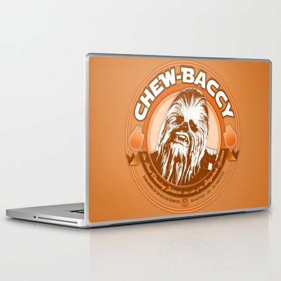 Chew-Baccy (Wookie Chewing Tobacco) Laptop & iPad Skin