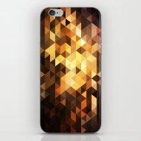 Triangle Design Chocolate iPhone & iPod Skin