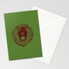 The Lion's Sin of Pride Stationery Cards