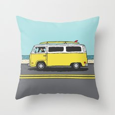 Surf Series   The Search Throw Pillow