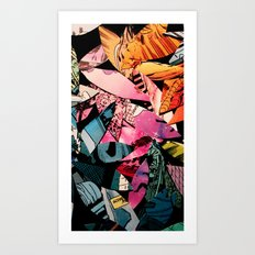 pedals - 1 Art Print
