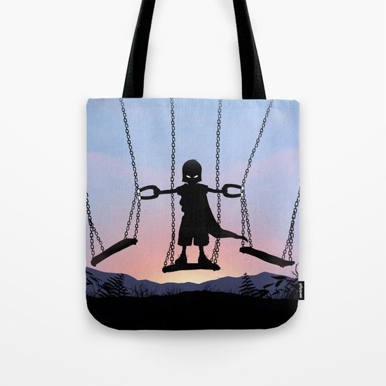 Magneto Kid Tote Bag