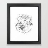 Ese es Framed Art Print