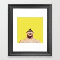Displacement. Framed Art Print
